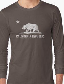 VIntage California Republic Long Sleeve T-Shirt