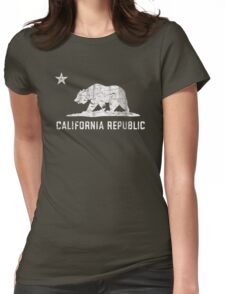 VIntage California Republic Womens Fitted T-Shirt
