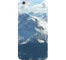 Switzerland snow iPhone Case/Skin