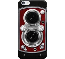 Vintage Camera Red iPhone Case/Skin