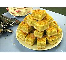 Scrumptious Apple Crumble Cake (Apfel-Streusel-Torte) Photographic Print