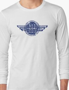 A340 Pilot Long Sleeve T-Shirt