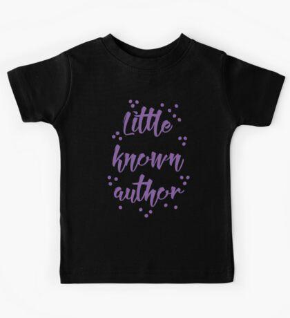 little known author Kids Tee
