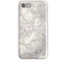 Vintage Map of Eastern Australia (1876) iPhone Case/Skin