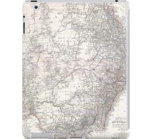 Vintage Map of Eastern Australia (1876) iPad Case/Skin