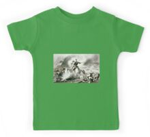 Genl. Shields at the battle of Winchester, Va. 1862 - 1862 Kids Tee