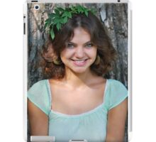 Forest happy  Nymph iPad Case/Skin