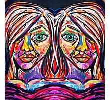 Neon Twins Photographic Print