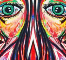 Neon Twins Sticker