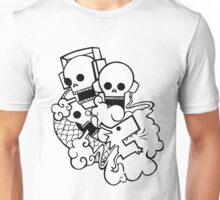 Skully Dragon Breath Unisex T-Shirt
