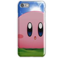 Kirby Oh iPhone Case/Skin