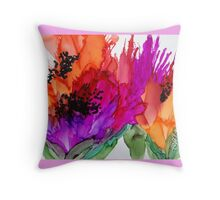 Poppy Delight Throw Pillow
