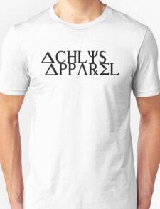 Achlys Apparel Black Text T-Shirt