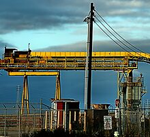 Bright Yellow Conveyor by Bob Wall