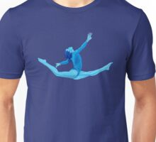Blue  Olympic Gymnast  Unisex T-Shirt
