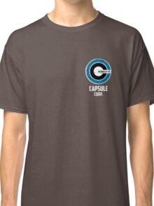 capsule corp saiyan logo Classic T-Shirt