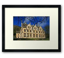 The Unfinished Mansion Framed Print