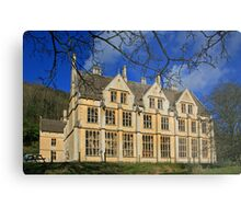 The Unfinished Mansion Metal Print
