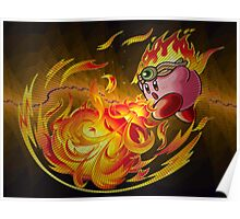 Kirby Fire Poster