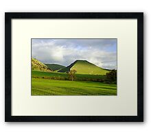 Thorpe Cloud from Bunster Hill Framed Print