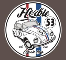 CLASSIC CAR NUMBER 53 One Piece - Short Sleeve