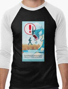 POKEMON GO LOADING SCREEN STUCK Men's Baseball ¾ T-Shirt