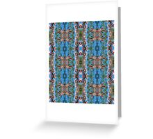 Spring Blossom Pattern Greeting Card
