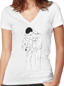 Gucci Mane Women's Fitted V-Neck T-Shirt