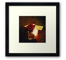 Rustic Romance Framed Print