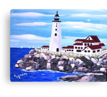 Straight Up............& On the Rocks Canvas Print