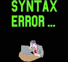 Syntax error by hoofster