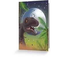 Tyrannosaurus Rage!  Greeting Card