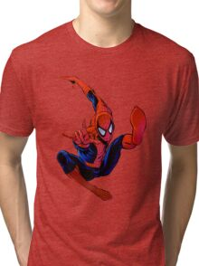 spiderman Tri-blend T-Shirt