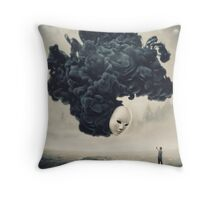 The Selfie A Dark Surrealism Throw Pillow