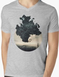 The Selfie A Dark Surrealism Mens V-Neck T-Shirt