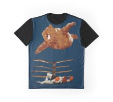 flaying bear Graphic T-Shirt
