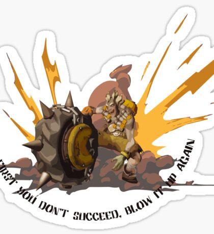 Bombrat Sticker