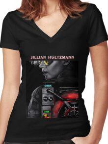 Jillian Holtzmann Women's Fitted V-Neck T-Shirt