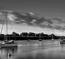 The River crouch Essex by DavidHornchurch