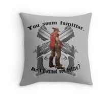 Bullet. Throw Pillow