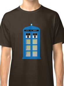 Doctor Who TARDIS little library Classic T-Shirt
