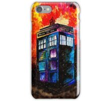 Tardis Painting iPhone Case/Skin