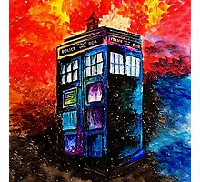 Tardis Painting Photographic Print