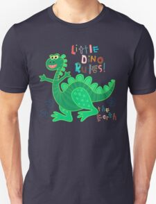 Little Dino rules the Earth Unisex T-Shirt