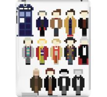Pixel Doctor Who Regenerations iPad Case/Skin