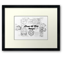 One of the boys, Holtz Framed Print