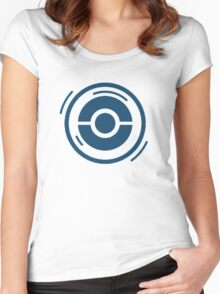 Pokestop Anywhere Women's Fitted Scoop T-Shirt