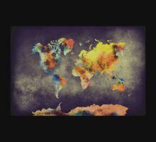 World map 2077 Baby Tee