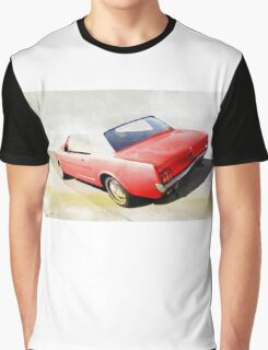 vintage car aquarell Graphic T-Shirt
