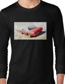 vintage car aquarell Long Sleeve T-Shirt